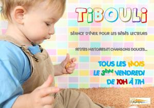 Tibouli : séance pour les bébés lecteurs